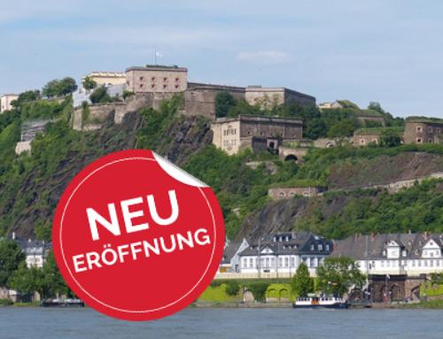 Neueröffnung derFiliale in Koblenzam 01.04.2021