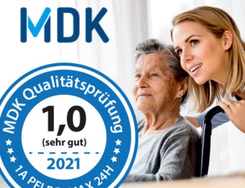 Bestnote für 1aPflegeMAX24Hzum 3. Mal in Folge erhalten