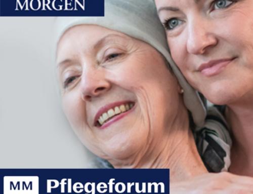 Zu Besuch auf der4. Pflegeforum-Messeam 31.10.2021